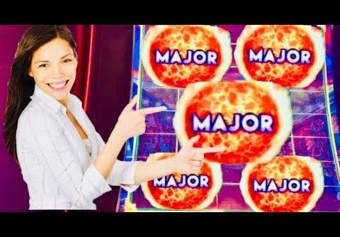 FINALLY! FIRE LINK slot machine BONUS WINS and MAJOR JACKPOT !