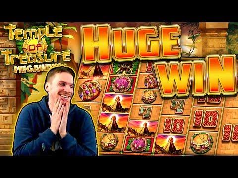 HUGE WIN on Temple of Treasure Megaways Slot – £4 Bet