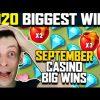 TOP SLOT WINS OF SEPTEMBER | BIGGEST CASINO WINS 2020 – MONEY TRAIN 2, HONEY RUSH, DOG HOUSE