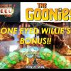 THE GOONIES SLOT – ONE EYED WILLIE'S BONUS WITH EPIC WINS!!!