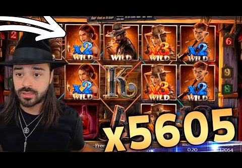 MEGA WIN! Streamers win on Dead or Alive 2 Slot! BIGGEST WINS OF THE WEEK! #1