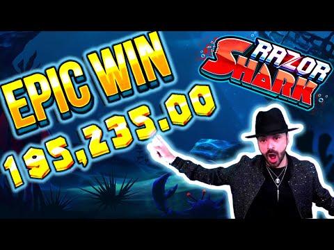 He Won 195.235€ on Razor Shark Slot – TOP 10 Biggest Wins of the Week #9