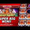 Tiger's Realm II Slot Bonus – Awesome Burst, Super Big Win!