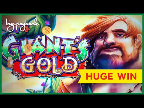 MY BIGGEST WIN EVER on Giant's Gold Slot – HUGE WIN RETRIGGER!
