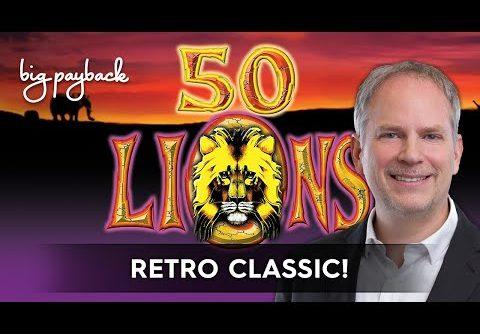 50 Lions Slot – BIG WIN SESSION!