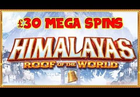 NEW Himalayas Slot ** £30 Mega Spins **