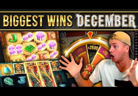 10 Biggest Slot Wins of December
