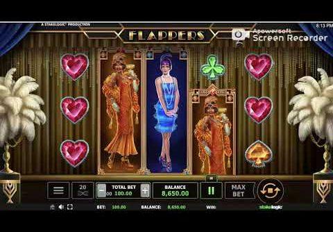 Free Online Slot. Flappers Slot, MEGA WIN.