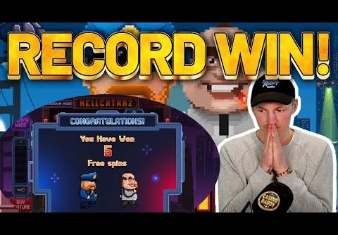 RECORD WIN! Hellcatraz BIG WIN – HUGE WIN ON NEW SLOT FROM RELAX GAMING
