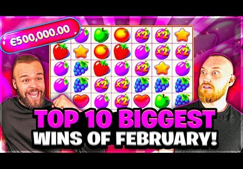 Top 10 Biggest Wins Of February | Our Record Breaking Month on Online Slots.