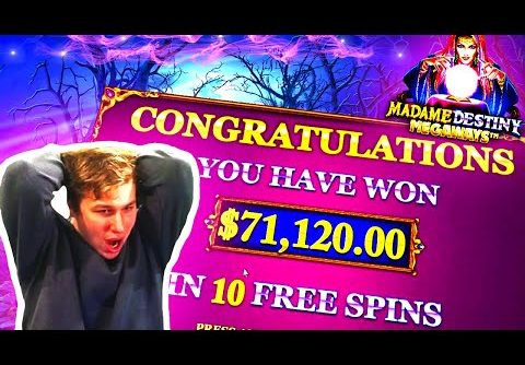 He Won 71.120$ on Madame Destiny Slot – Daily Dose of Gambling #50