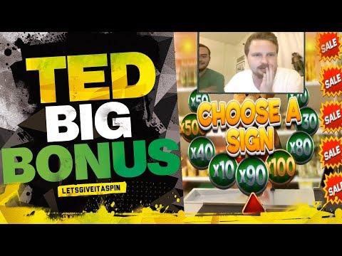 Big bonus in Ted slot machine