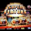 SUNSET KING   Aristocrat *Super Feature* Big Win! Slot Machine Bonus