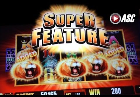 SUNSET KING | Aristocrat *Super Feature* Big Win! Slot Machine Bonus
