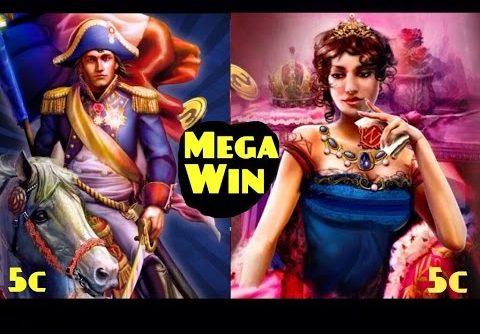 NAPOLEON & JOSEPHINE slot machine 35 spins Bonus and MEGA BIG WIN!