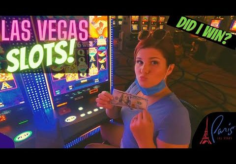 I Put $100 in a Slot at the Paris Hotel – Here's What Happened! 🤩 Las Vegas 2020