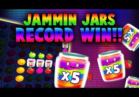JAMMIN' JARS SLOT 🍓 RECORD BIG WIN! 🍓