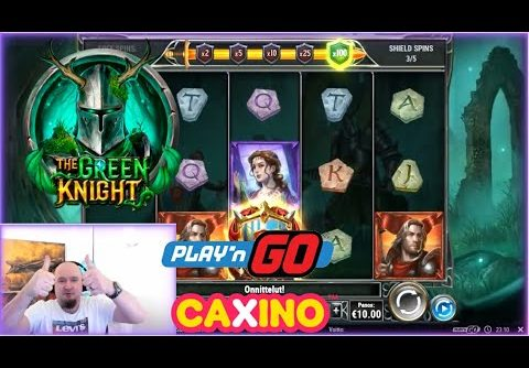 Two Big Wins From The Green Knight Slot!!