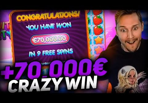 Streamer Record win 70.000€ on Fruit Party Slot – Top 5 Biggest Wins of week