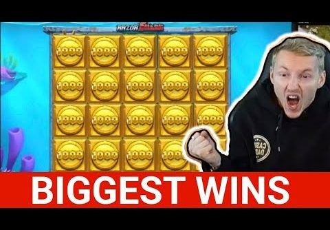 The biggest slot wins in January! Biggest wins in online casino! Crazy Jackpots of the month 🔥