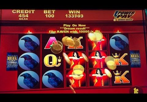 **JACKPOT HANDPAY** Wicked Winning slot | RAVEN LANDED x 18 lines