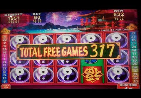 China Shores Slot Machine Bonus + Retriggers – 357 FREE SPINS – MEGA BIG WIN (#2)