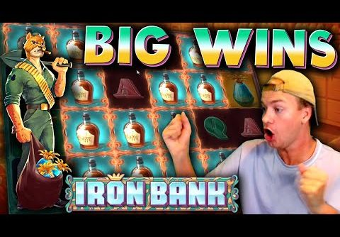 BIG WINS on Iron Bank (New Slot)