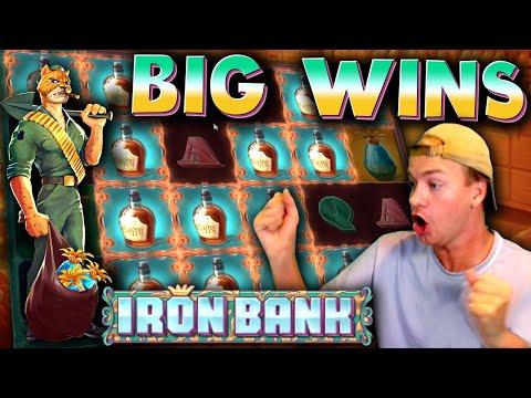 BIG WINS on Iron Bank (New Slot)