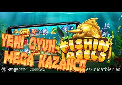 Fishing Reels Yeni Oyun Küçük Kasa Güzel Kazanç MEGA WİN!! #SLOT #RULET #CANLICASİNO #PRAGMATİC