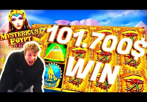 Xposed 101.700$ Win on Mysterious Egypt Slot – TOP 10 Biggest Wins of the Week #10