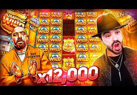 ROSHTEIN New Mega Win x12000 on SAN QUENTIN SLOT – TOP 5 Mega wins of the week
