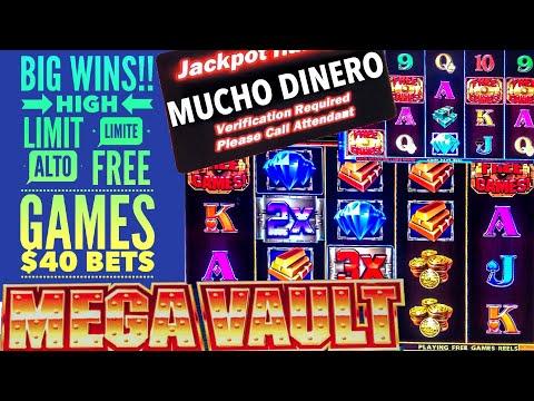 HUGE WIN/ JACKPOT/ $40 BETS/ MEGA VAULT SLOT