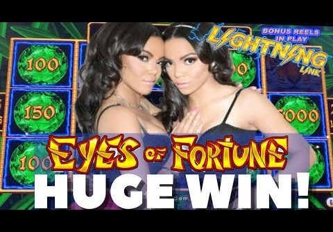 HUGE WIN on EYES OF FORTUNE!! – Lightning Link!! 💰⚡️ – Coin Grabs and Bonuses!!!