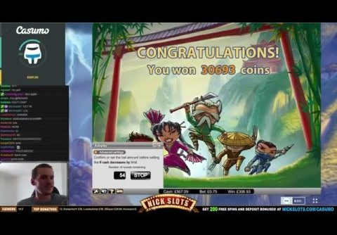 SUPER MEGA WIN On Thunderfist Slot – £0.75 Bet