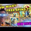LEGACY OF EGYPT SLOT – ( WORLD RECORD SPINS ) ? 🚨 CASINO BONUS WIN !!