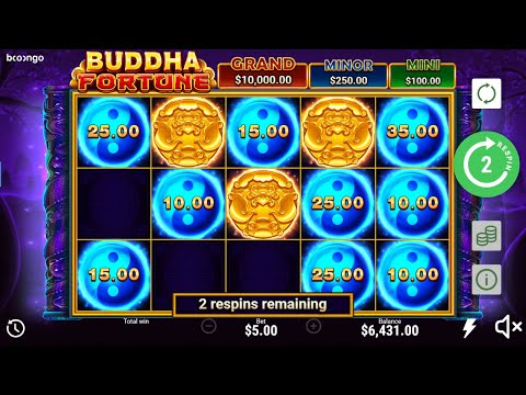 ONLINE SLOTS – Buddha Fortune BIGWIN X100