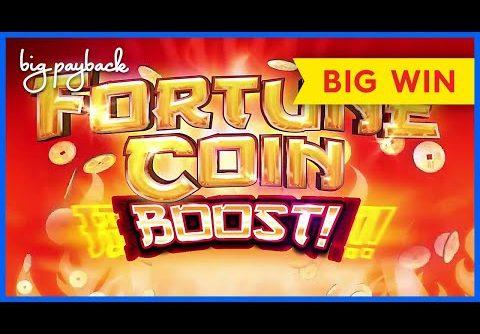 MEGA BOOST, WOW! Fortune Coin Boost Slot – BIG WIN BONUS!
