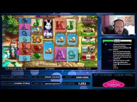 CRAZY WORM FEATURE WIN!! SUPER BIG WIN FROM WHITE RABBIT SLOT!!