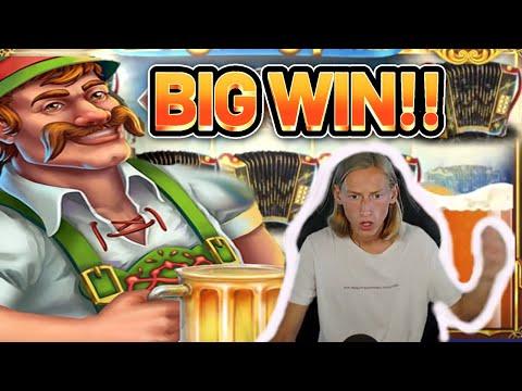 MASSIVE WIN! LUCKY OKTOBERFEST BIG WIN – €5 bet on Casino Slot from CasinoDaddy