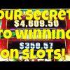 Four Secrets To Winning on Slot Machines