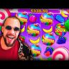 Streamer Crazy Epic Win +64 000$ on Sweet Bonanza slot – TOP 5 Biggest wins of the week