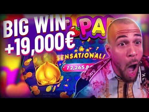 ClassyBeef Huge Win 19.000€ on Fruit Party slot – TOP 5 Biggest wins of the week