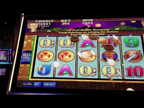 Huge Win Accumalated on Pompeii Original Slot Machine