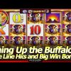 Buffalo Gold Revolution Slot Machine – Lining Up Buffaloes in Nice Line Hits and Free Spins Big Win!