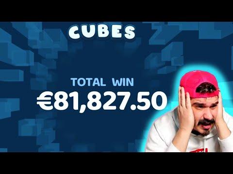 EXTRA MEGA BIG WIN! Streamer Super Win on Cubes Slot! BIGGEST WINS OF THE WEEK! #53