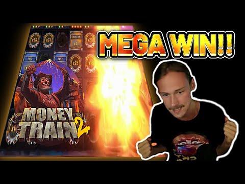 BIG WIN! MONEY TRAIN 2 BIG WIN – €2,5 bet bonus buy on Casino Slot from RELAX GAMING