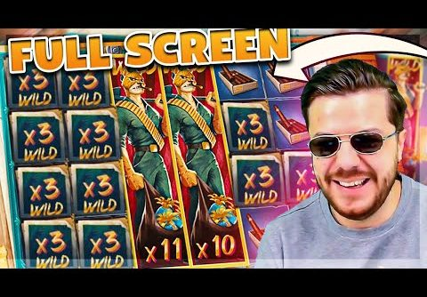 Streamer Full Screen Record Win on Iron Bank slot – TOP BEST WINS OF THE DAILY !