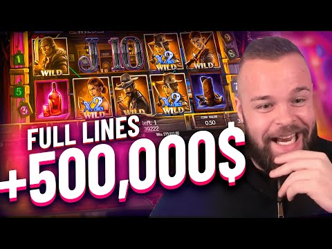Streamer Crazy Record Win +500.000$ on Dead or Alive 2 Slot – TOP 10 BEST WINS OF THE WEEK !