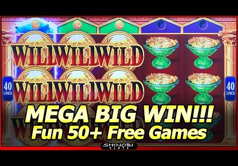 Golden Messenger Slot – Part Two: Mega Big Win in Fun 50+ Free Games Bonus