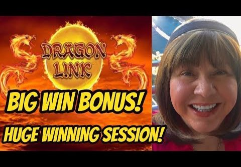 HUGE WIN SESSION!  DRAGON LINK SLOT MACHINE